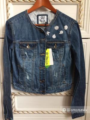 Джинсовая куртка-жакет Silvian Heach M