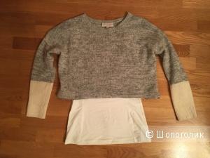 Сет: свитер t.s.society, топ, S