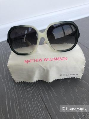 Солнцезащитные очки Matthew Williamson by Linda Farrow