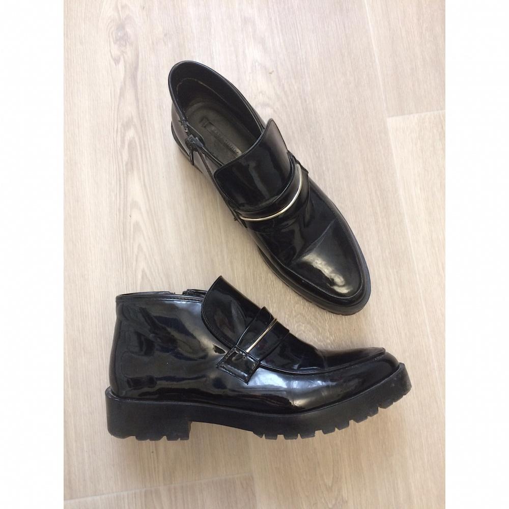 Лакированные ботинки Zara, 40 размер