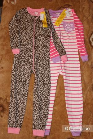 Набор из 2-х пижам-слипов The Children's Place размер 5т(104-112 см)
