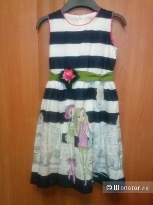 Платье Турция р. 9 (134) LILAX