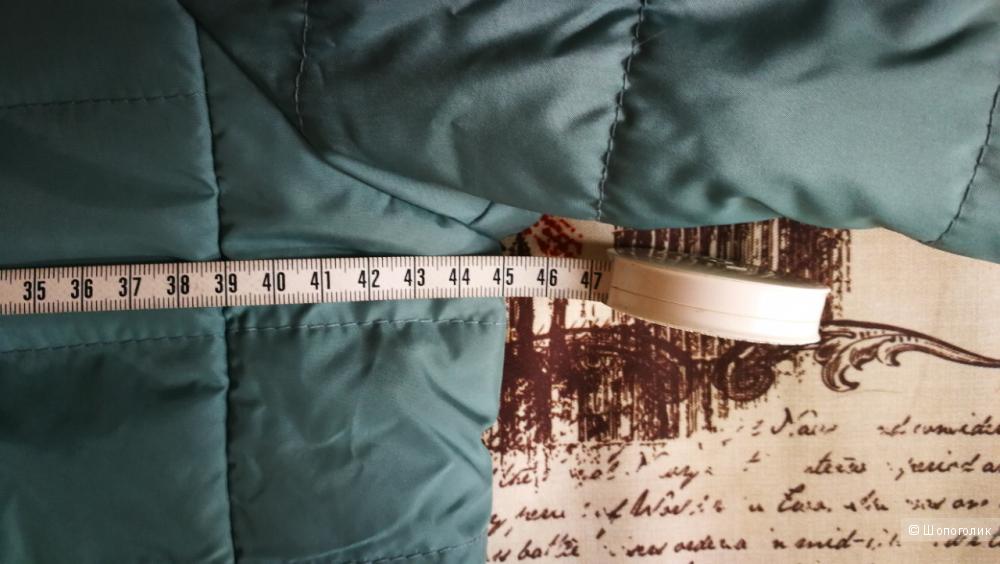 Стеганая куртка Oodji, размер 34