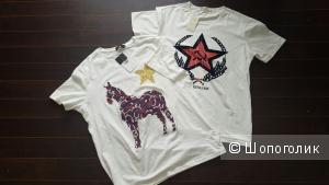 Сет из двух мужских футболок 1984 DEN MAN и DRESSLIKE, размер 52-54.