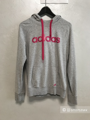 Кофта-худи, Adidas, размер S, 40-44 рус.
