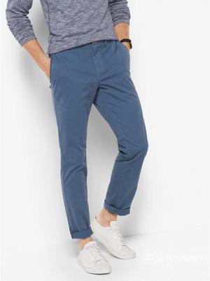 MICHAEL KORS MENS Тонкие хлопчатобумажные штаны Slim-Fit W34/L32