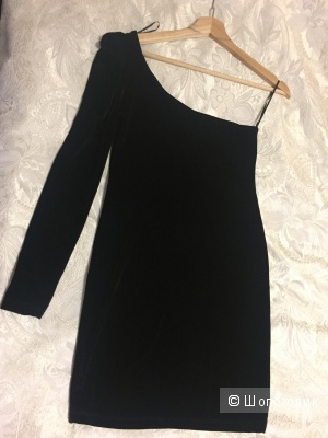 Бархатное платье размер 40-42