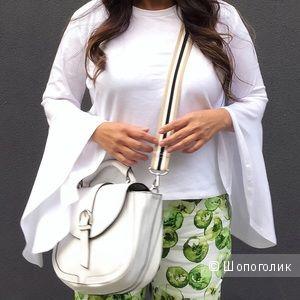Zara сумка с контрастным ремнем