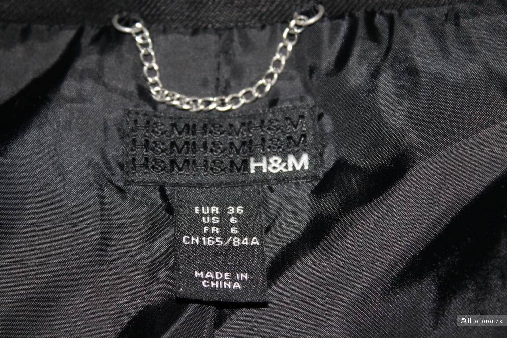 Плащ бренда H&M, размер евр. 36