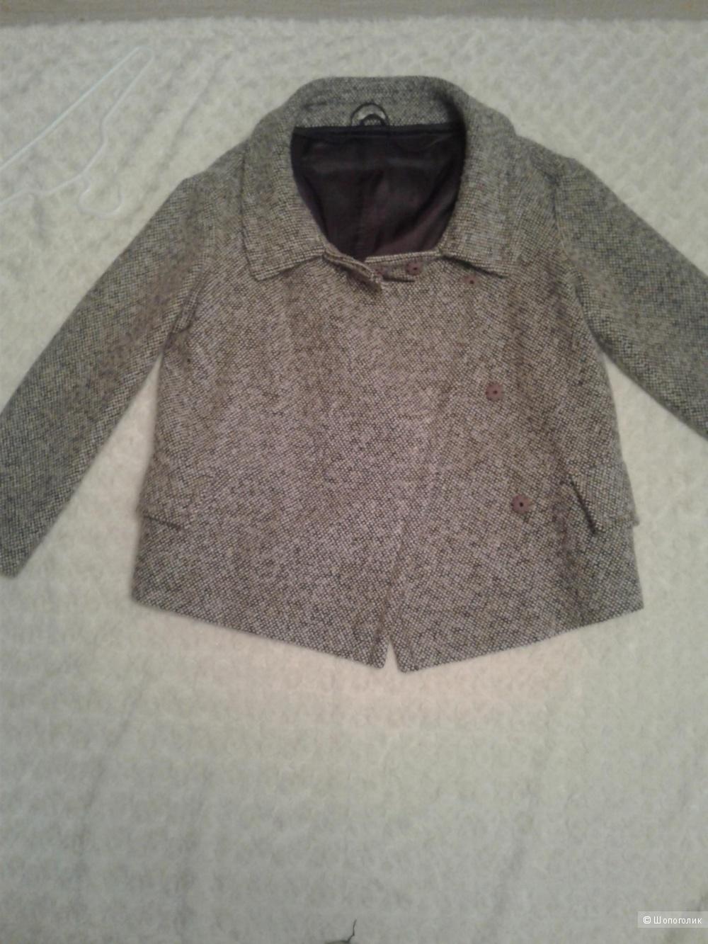 Курка-пальто 46 ИТ шерсть MIU MIU