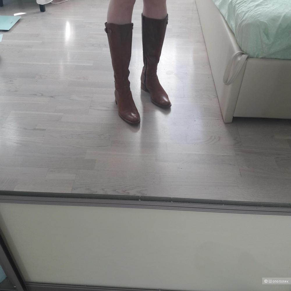 Кожаные сапоги Billi bi Copenhagen 39  размера