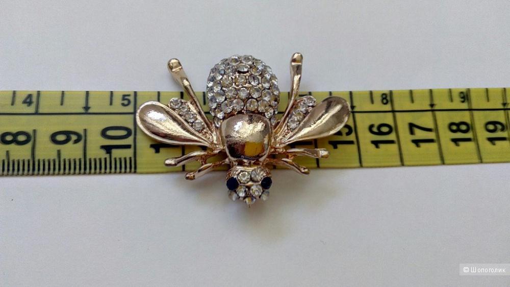 Брошь муха, one size