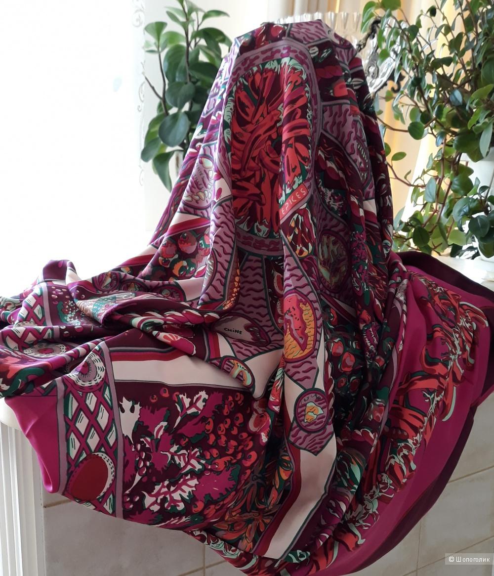 Шёлковая шаль 140*140