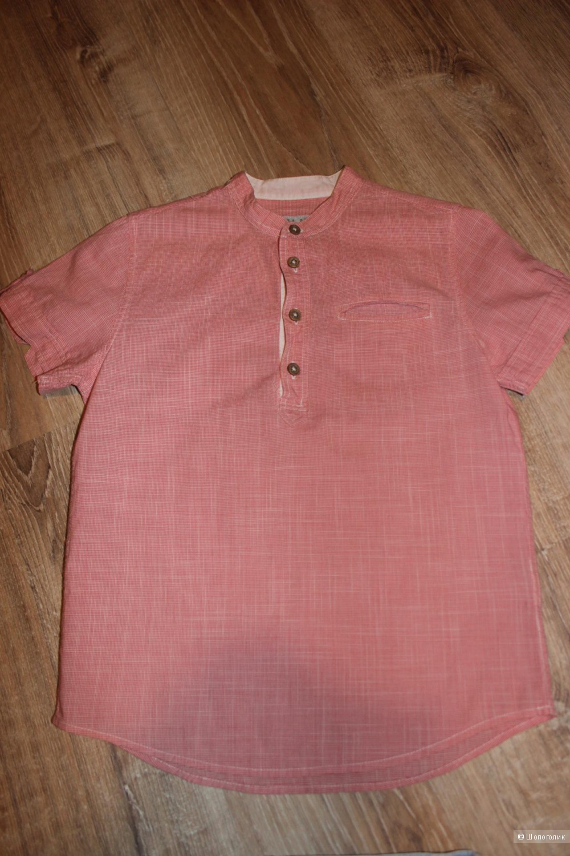 Шорты+рубашка zara+h&m, размер 7-8 лет