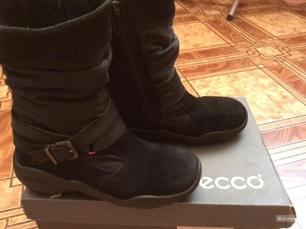 Детские сапоги ECCO и ботинки Ellos, размер 30, демисезон.