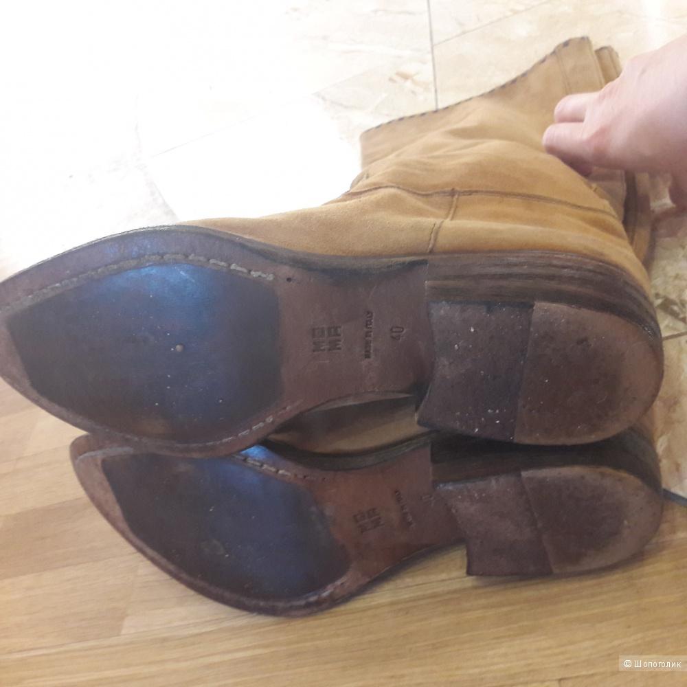 Кожаные сапоги MoMa 40 размера