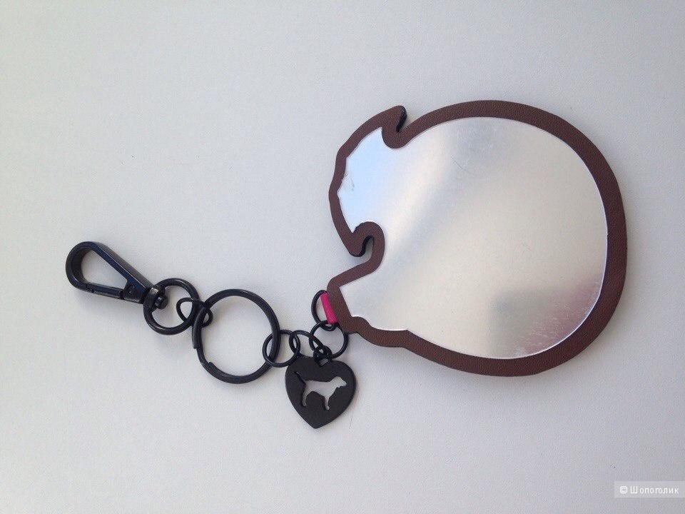 Vacay Charm Keychain, Pink