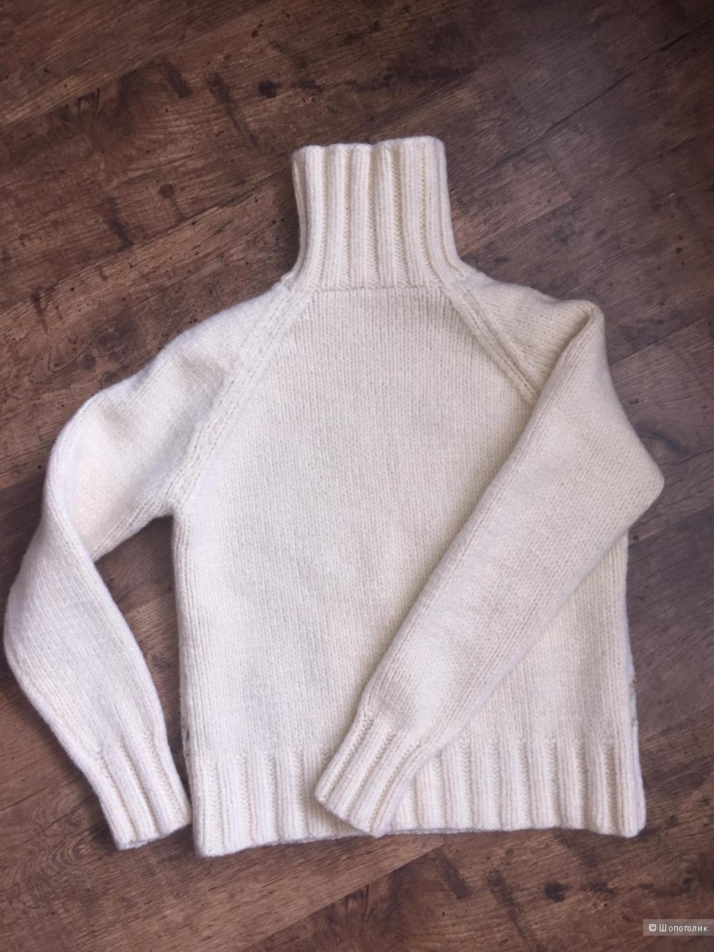 Шерстяной свитер, 40-42 размер