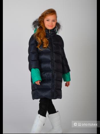 Пуховое пальто Borelli р.8