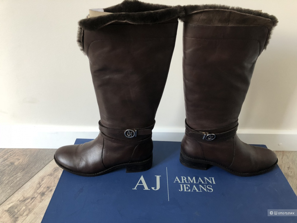 Сапоги с мехом Armani jeans 37р