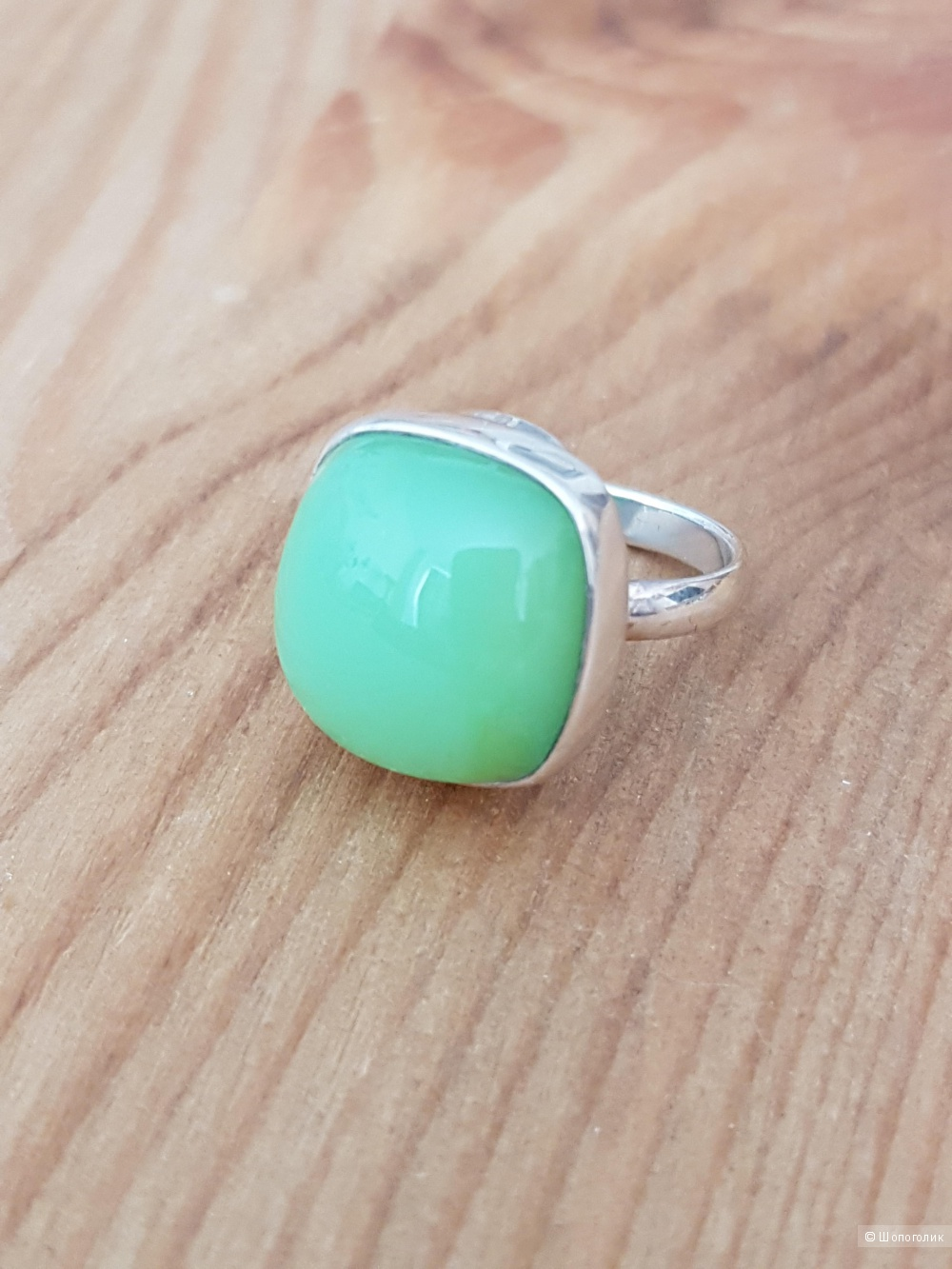 Кольцо GREEN, размер 16,5