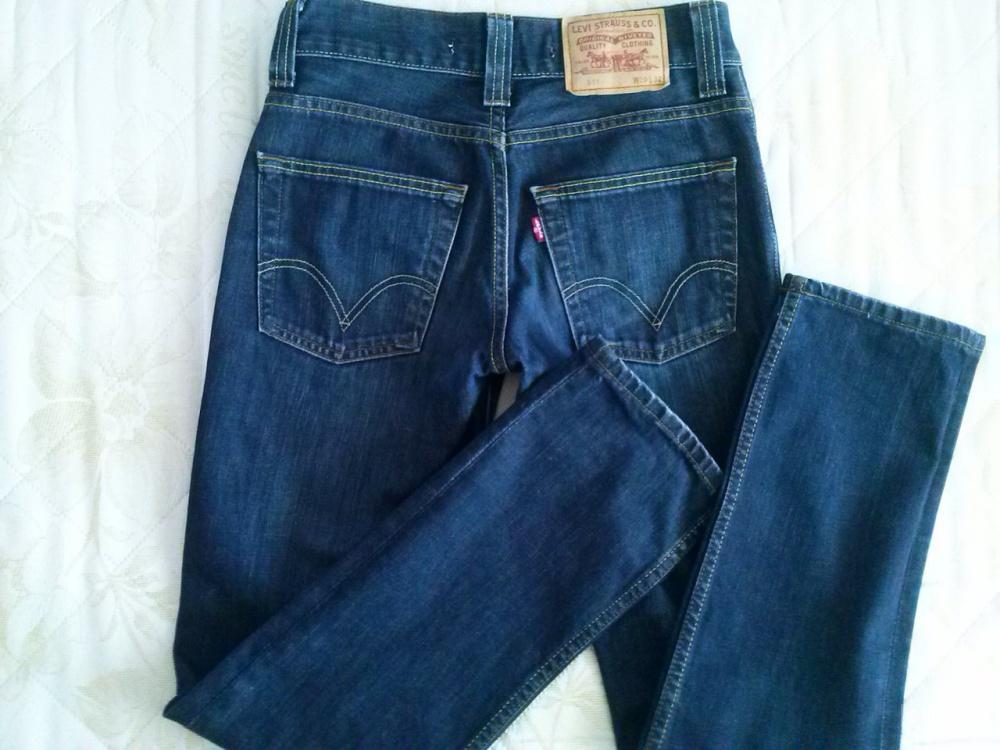 Levis 511, W2/L32 ,синие джинсы