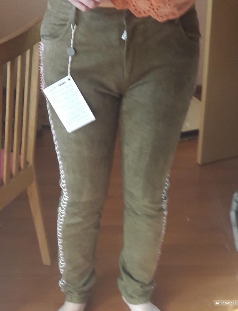 Замшевые брюки Alphamoment 42 французский размер