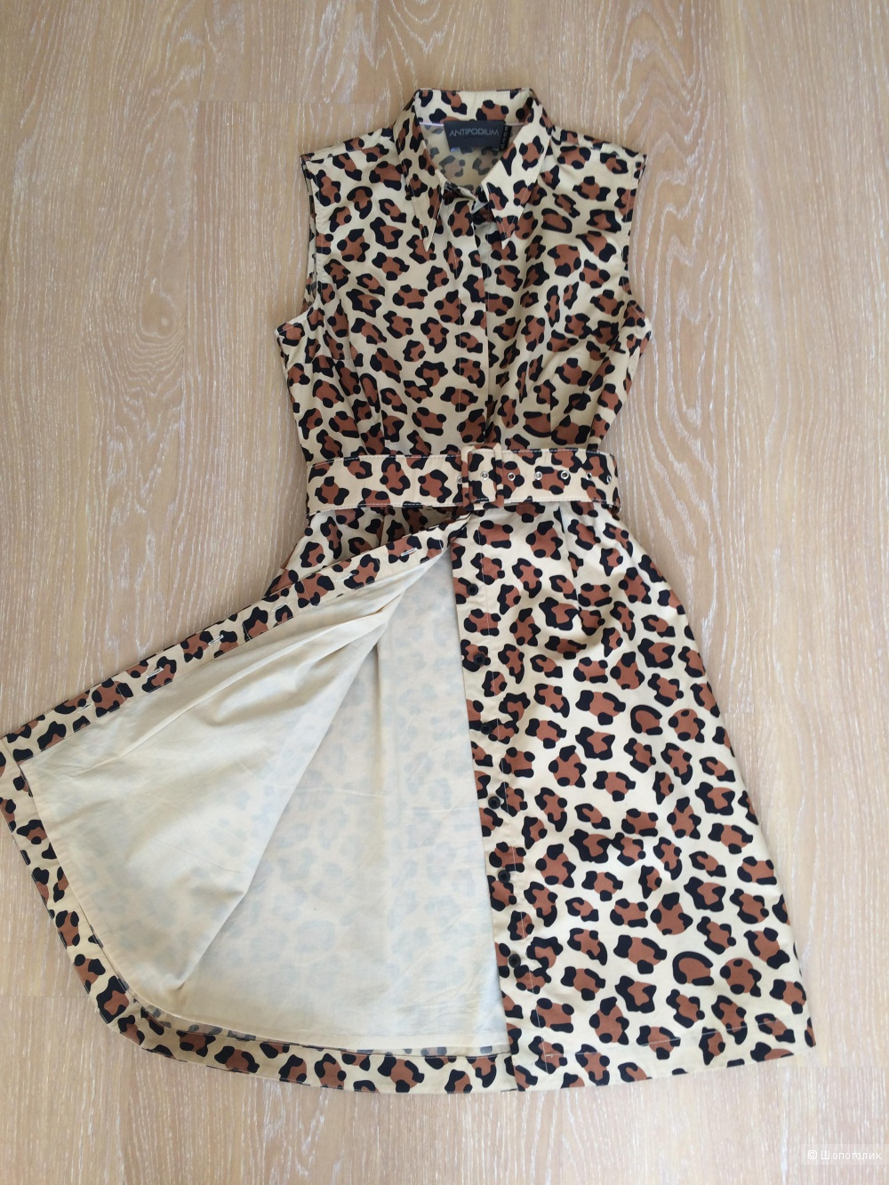 Платье-рубашка ANTIPODIUM, р-р 44-46