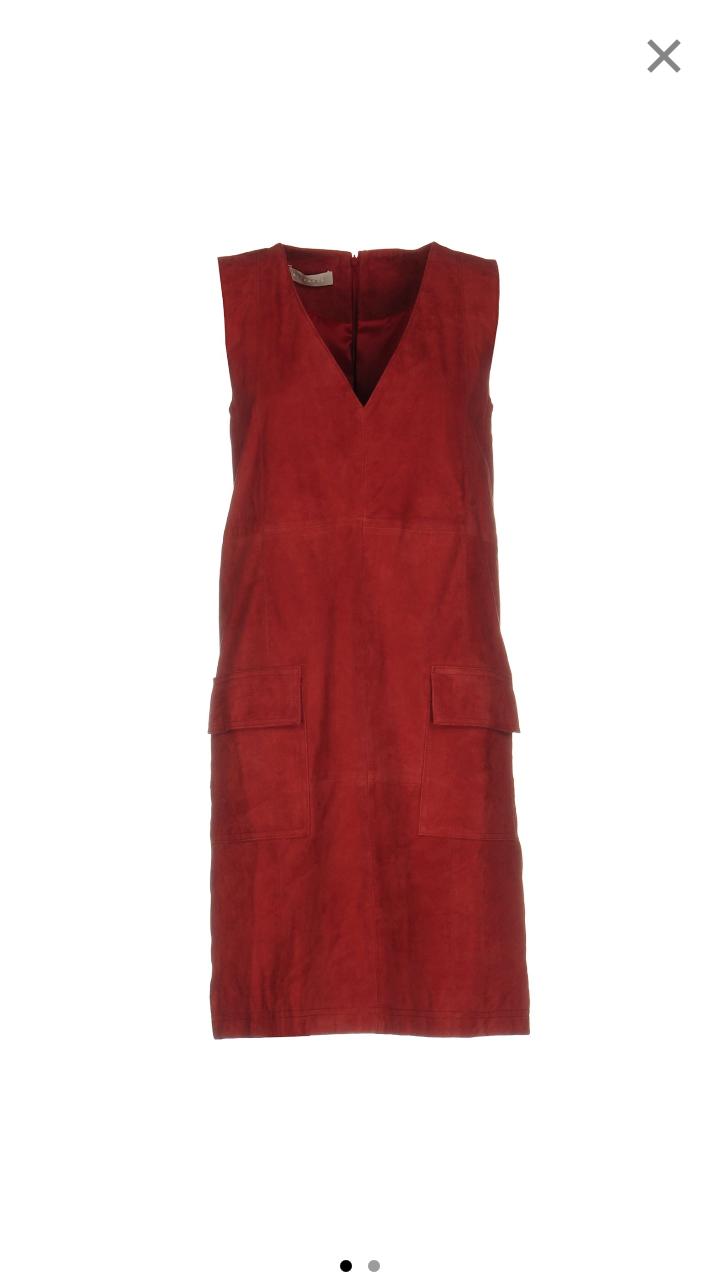 Замшевое платье Stefanel  размер 42-44