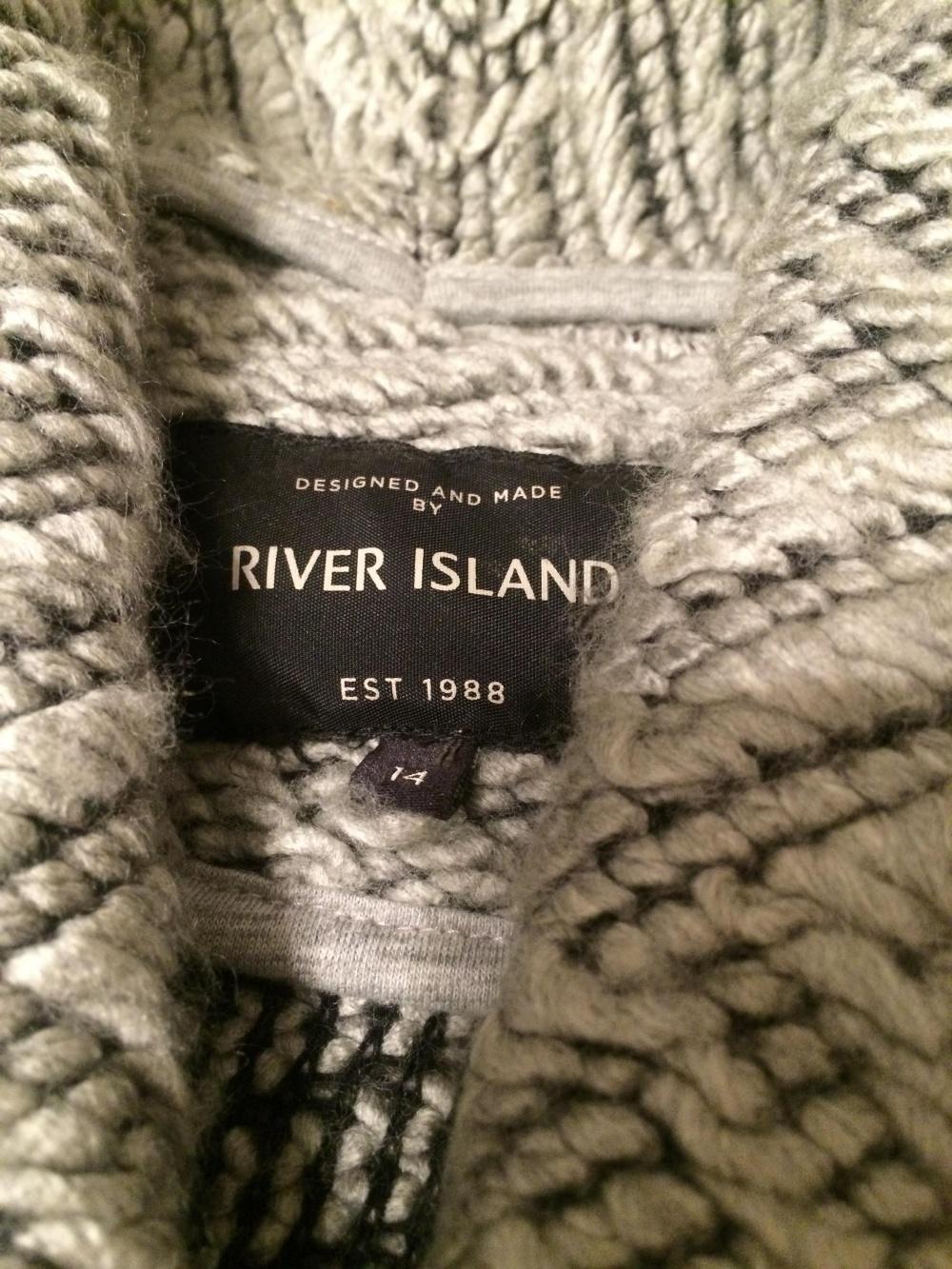 Кардиган RIVER ISLAND 50 размер