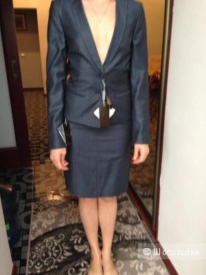 Костюм пиджак+юбка 42-44