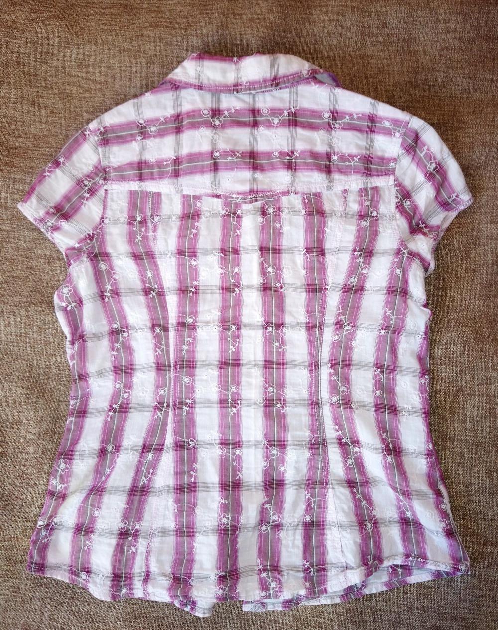 Сет из 3х хлопковых рубашек европейских фирм, 46