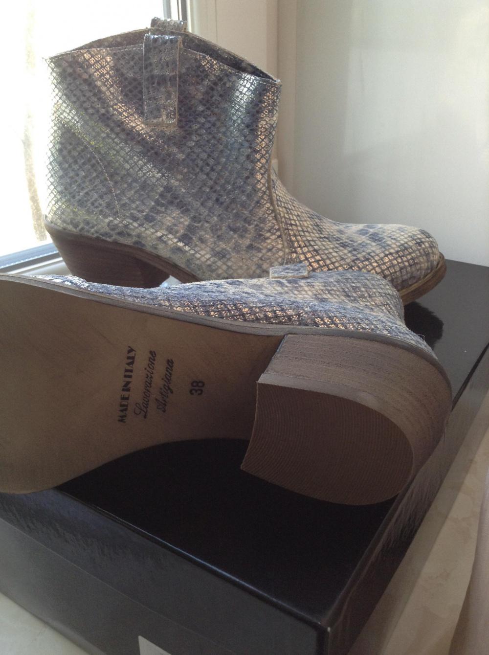 Ботинки Fabrizio Chini, 38 размер