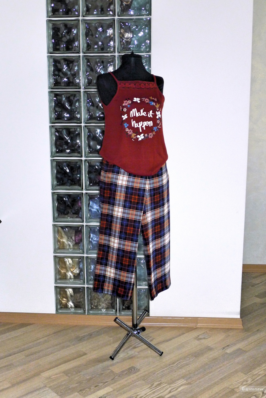 Брюки шелковые ZARA women размер S