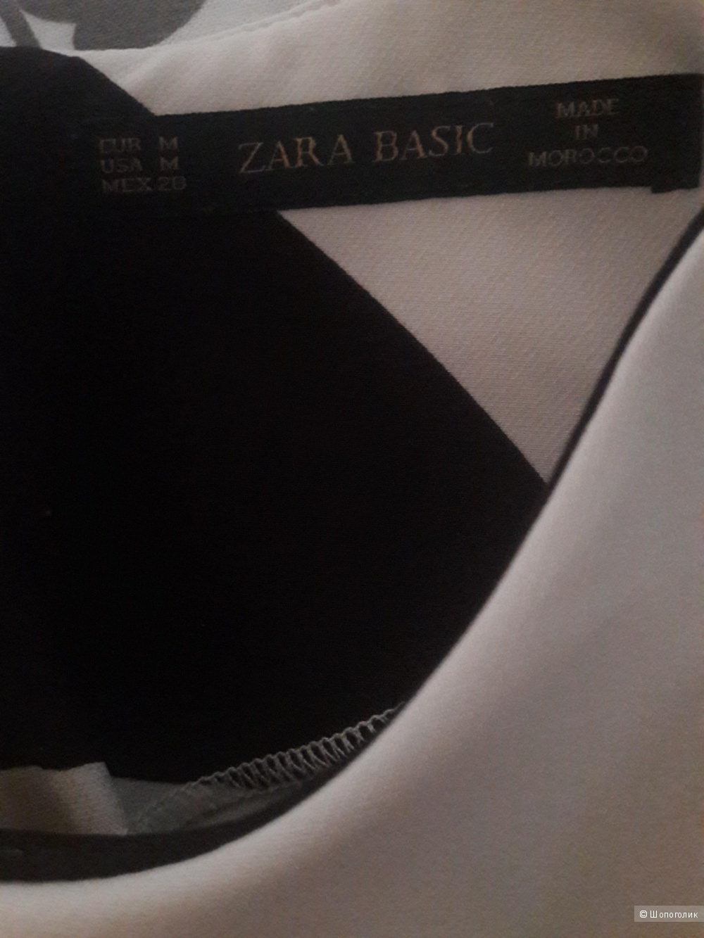 Zara Basic: базовый топ, М