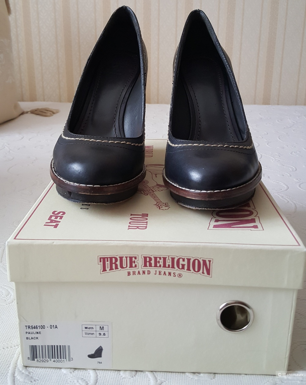 Туфли True Religion р. 9.5 (на рос. 40)
