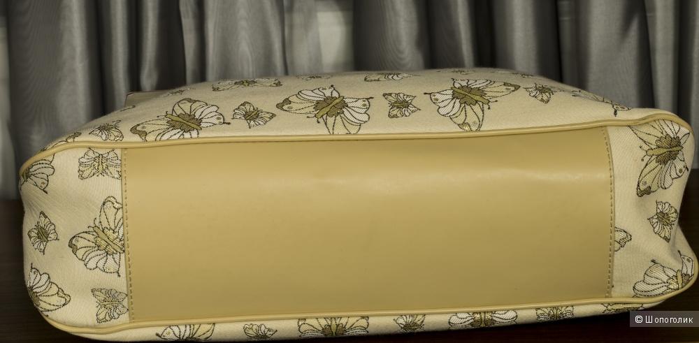 Braccialini butterfly jacquard - сумка-хобо женская, large.