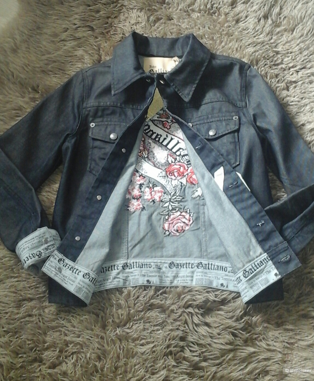 Джинсовая куртка John Galliano, рост 155-160 см