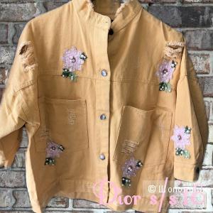 Джинсовая куртка Dior,  oversize