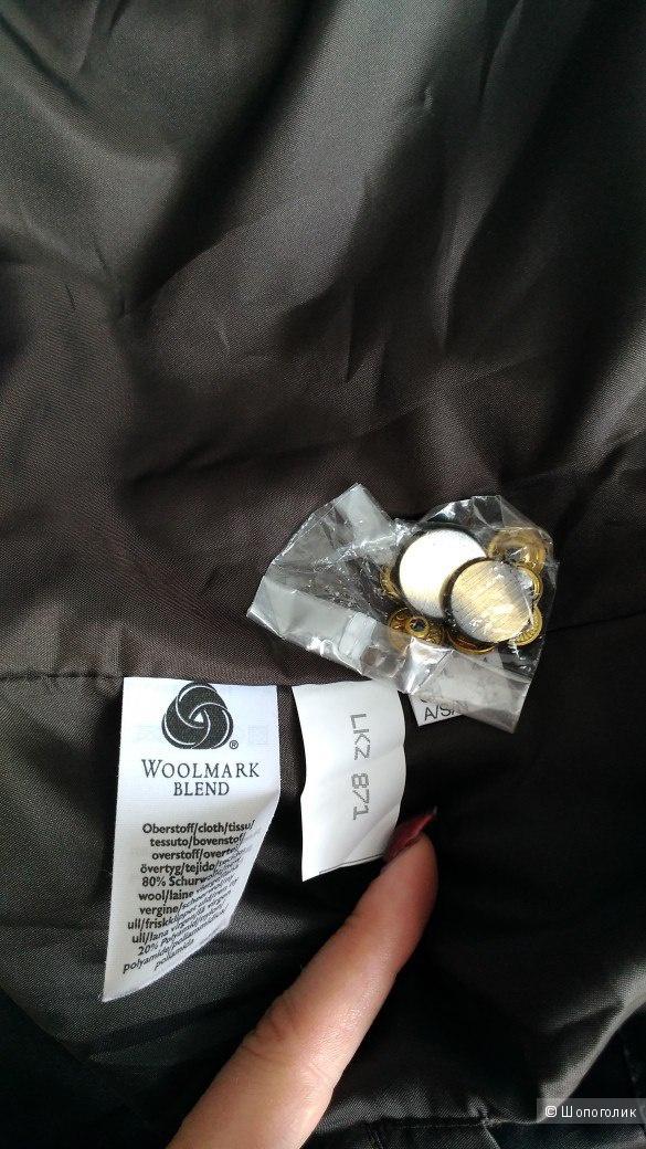 Пальто Walbusch Woolmark blend р.50