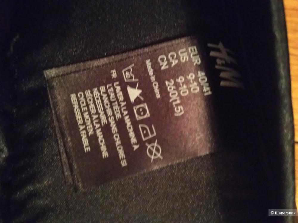 Домашние тапочки H&M, размер 39-41