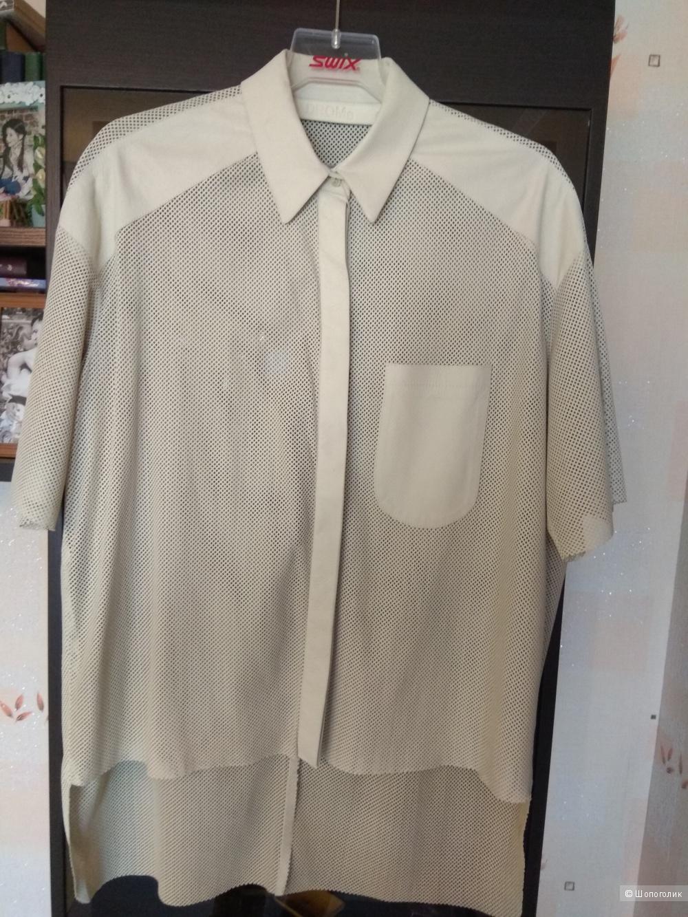 Рубашка кожаная  DROME, S на М(42-44-46)