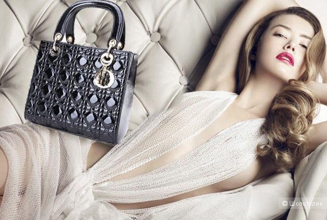 """Сумка """"Lady Dior"""" 28 на 23 и ширина 10 см"""