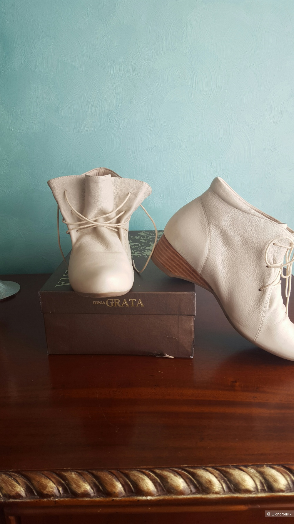 Ботинки, ботильоны  DINA GRATA, размер 39,40.