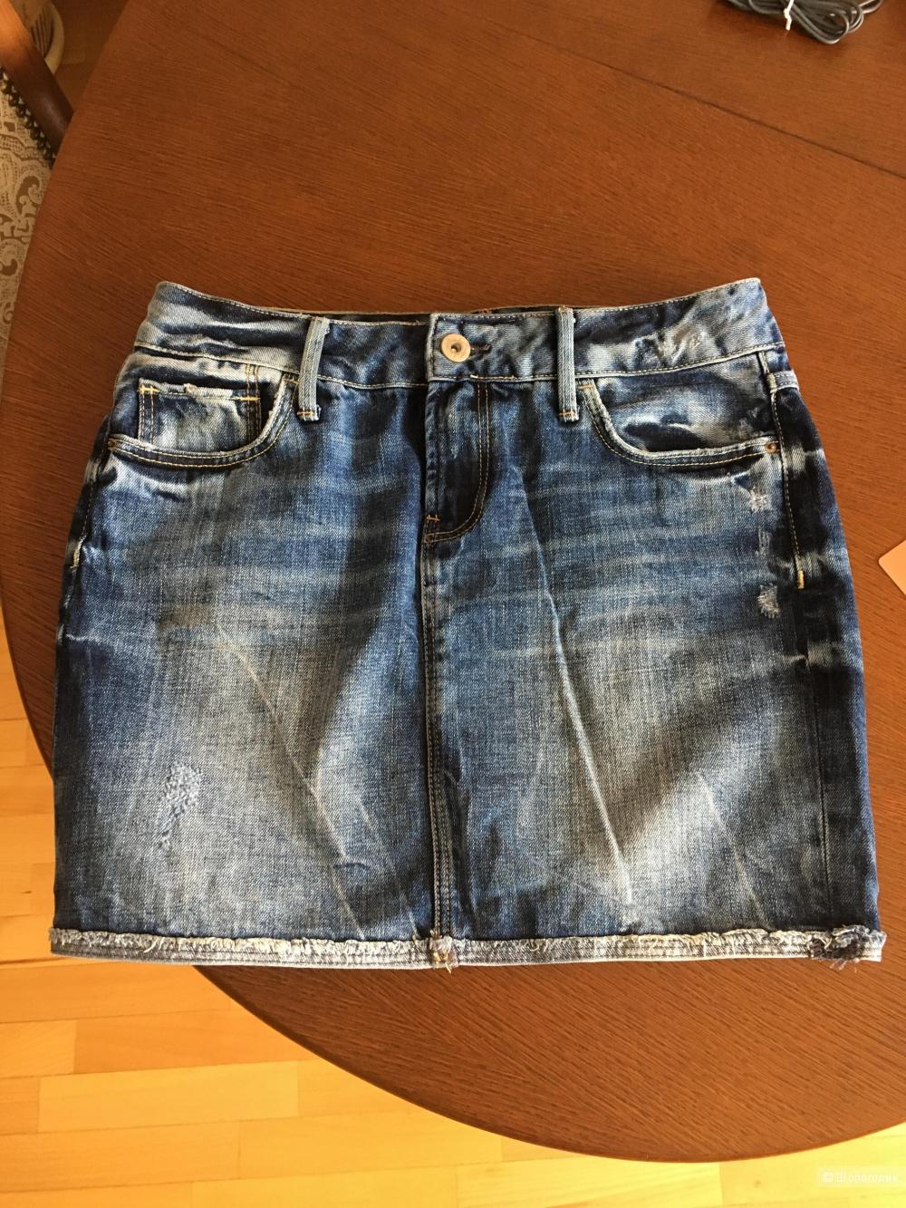 Юбка джинсовая Colins 44 размер