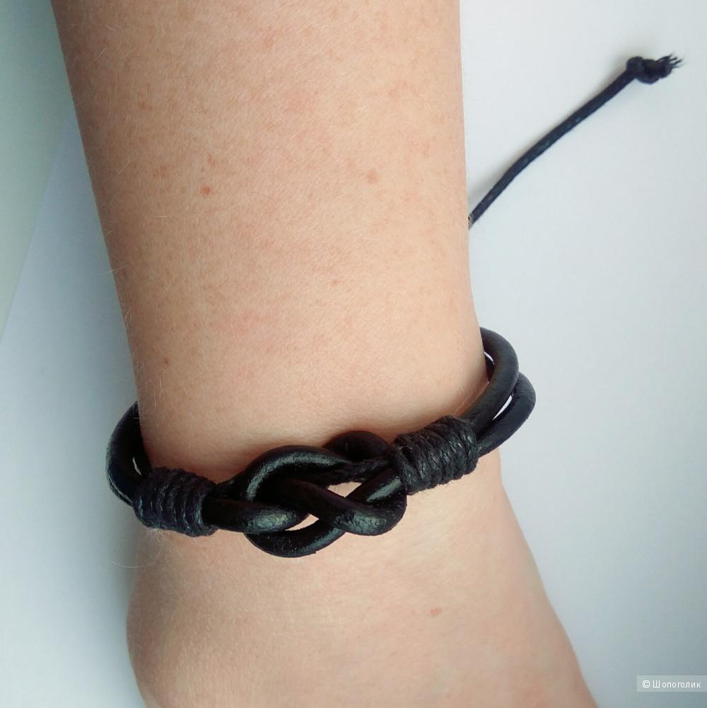 Кожаный браслет (на любой размер руки)