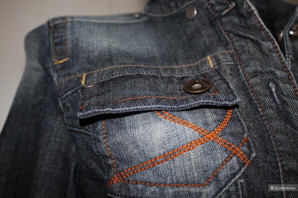 Джинсовая куртка бренда Fishbone, размер 38-40-42