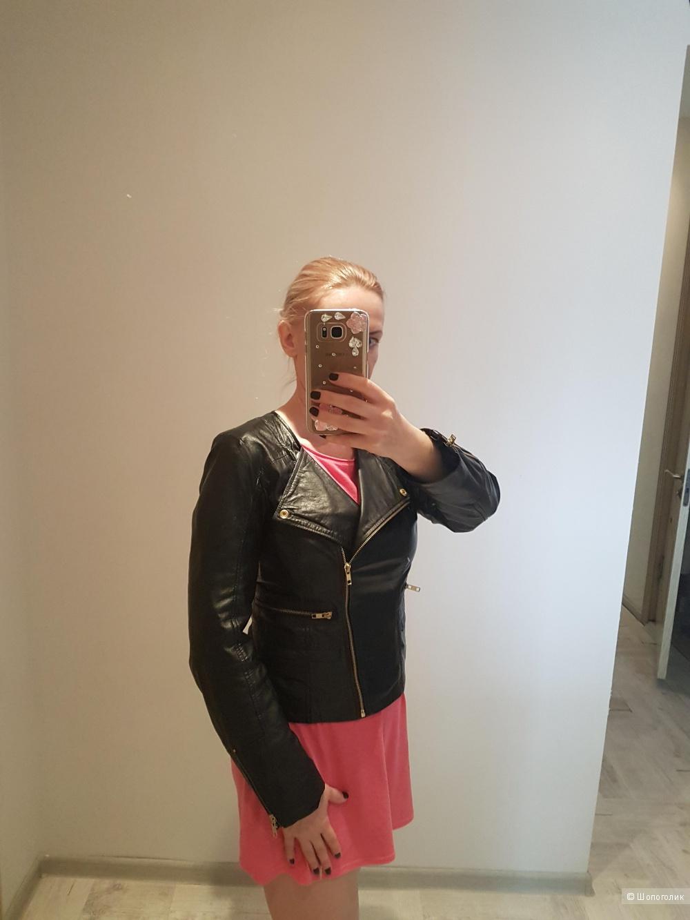 Кожаная куртка BARNEYS. originals,  размер 10