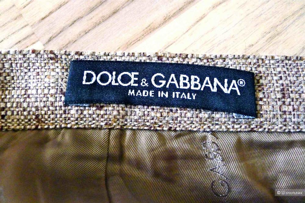 Юбка Dolce&Gabbana с кружевом размер 38