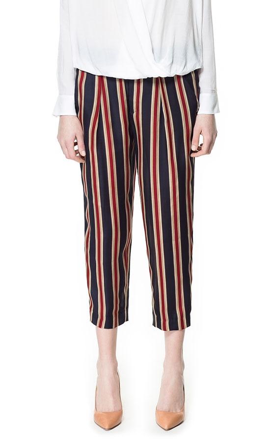 Zara women брюки шелк размер S